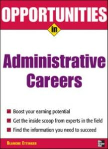 Ebook in inglese Opportunities in Administrative Assistant Careers Ettinger, Blanche