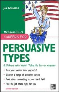 Ebook in inglese Careers for Persuasive Types & Others who Won't Take No for an Answer Goldberg, Jan