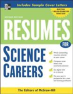 Ebook in inglese Resumes for Science Careers McGraw-Hill Educatio, cGraw-Hill Education