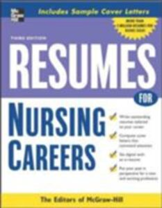 Ebook in inglese Resumes for Nursing Careers McGraw-Hill Educatio, cGraw-Hill Education