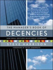 Ebook in inglese Manager's Book of Decencies Harrison, Steve