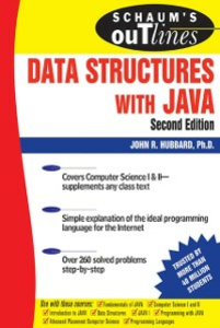 Ebook in inglese Schaum's Outline of Data Structures with Java, Second Edition Hubbard, John