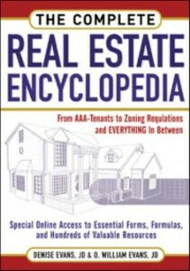 Ebook in inglese Complete Real Estate Encyclopedia Evans, Denise , Evans, O. William