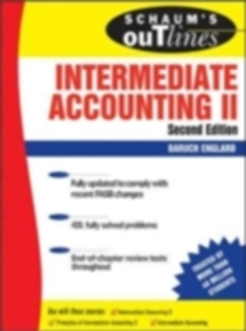 Ebook in inglese Schaum's Outline of Intermediate Accounting II, Second Edition Englard, Baruch