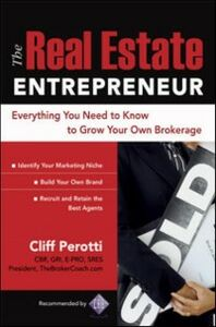 Ebook in inglese Real Estate Entrepreneur Perotti, Clifford