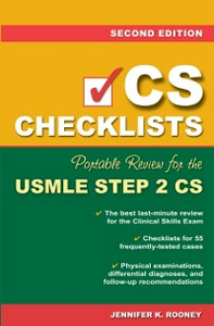 Ebook in inglese CS Checklists: Portable Review for the USMLE Step 2 CS, Second Edition Rooney, Jennifer