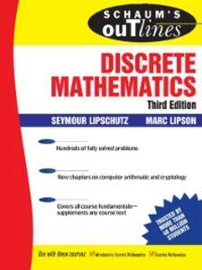 Foto Cover di Schaum's Outline of Discrete Mathematics, 3rd Ed., Ebook inglese di Seymour Lipschutz,Marc Lipson, edito da McGraw-Hill Education