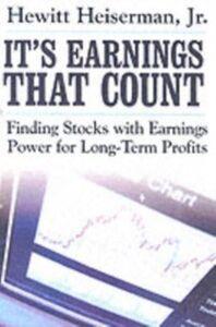 Ebook in inglese It's Earnings That Count Heiserman, Hewitt