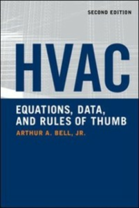 Ebook in inglese HVAC Equations, Data, and Rules of Thumb, 2nd Ed. Bell, Arthur
