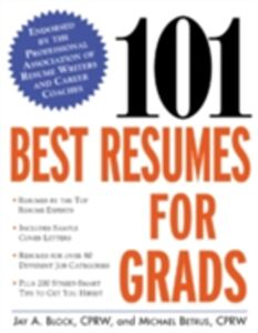 Ebook in inglese 101 Best Resumes for Grads Block, Jay A.