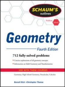Foto Cover di Schaum's Outline of Geometry, 4ed, Ebook inglese di Barnett Rich,Christopher Thomas, edito da McGraw-Hill Education