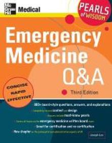 Emergency medical Q & A - Joseph Lex - copertina