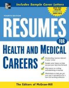 Resumes for Health and Medical Careers - The Editors of VGM Career Books - cover
