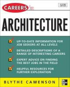 Careers in Architecture - Blythe Camenson - cover