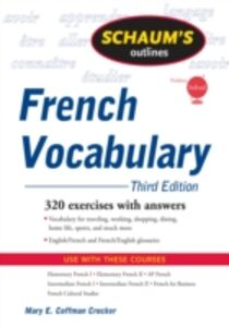Ebook in inglese Schaum's Outline of French Vocabulary, 3ed Crocker, Mary