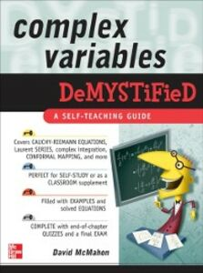 Ebook in inglese Complex Variables Demystified McMahon, David