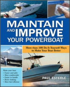 Ebook in inglese Maintain and Improve Your Powerboat Esterle, Paul