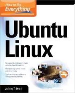 How to Do Everything: Ubuntu - Jeffrey T. Orloff - cover