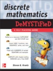 Ebook in inglese Discrete Mathematics DeMYSTiFied Krantz, Steven