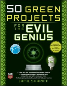 Ebook in inglese 50 Green Projects for the Evil Genius Shariff, Jamil