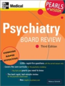 Ebook in inglese Psychiatry Board Review: Pearls of Wisdom, Third Edition Schmidt, Rebecca