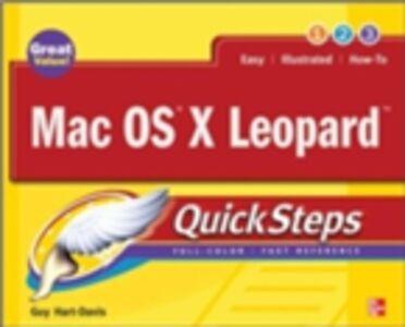 Ebook in inglese Mac OS X Leopard QuickSteps Hart-Davis, Guy