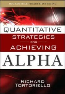 Ebook in inglese Quantitative Strategies for Achieving Alpha Tortoriello, Richard