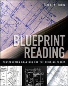 Ebook in inglese Blueprint Reading Kubba, Sam