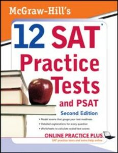 Ebook in inglese McGraw-Hill's 12 SAT Practice Tests with PSAT, 2ed Anestis, Mark , Black, Christopher