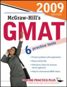 Ebook in inglese McGraw-Hill's GMAT, 2009 Edition Hackney, Ryan , Hasik, James , Rudnick, Stacey