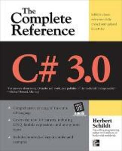 C# 3.0 THE COMPLETE REFERENCE - Herbert Schildt - cover
