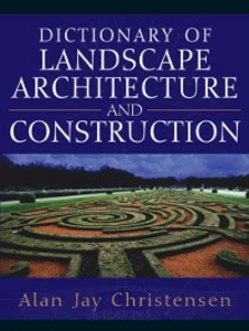 Ebook in inglese Dictionary of Landscape Architecture and Construction Christensen, Alan
