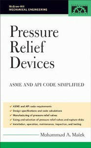 Ebook in inglese Pressure Relief Devices Malek, Mohammad