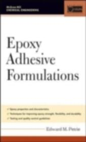 Epoxy Adhesive Formulations