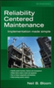 Ebook in inglese Reliability Centered Maintenance (RCM) Bloom, Neil