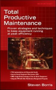 Ebook in inglese Total Productive Maintenance Borris, Steve