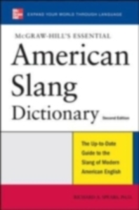 Ebook in inglese McGraw-Hill's Essential American Slang Spears, Richard