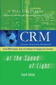 CRM at the Speed of Light, Fourth Edition - Paul Greenberg - cover