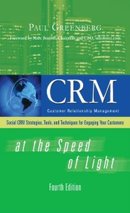 Ebook in inglese CRM at the Speed of Light, Fourth Edition Greenberg, Paul