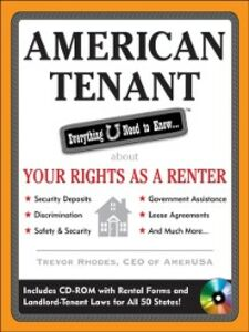 Ebook in inglese American Tenant: Everything U Need to Know About Your Rights as a Renter Rhodes, Trevor