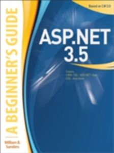 Foto Cover di ASP.NET 3.5: A Beginner's Guide, Ebook inglese di William Sanders, edito da McGraw-Hill Education