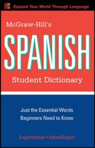 Ebook in inglese McGraw-Hill's Spanish Student Dictionary Qualls, Regina , Sanchez, L.