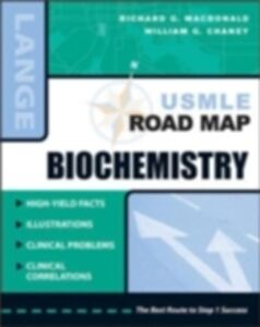Ebook in inglese USMLE Road Map Biochemistry MacDonald, Richard