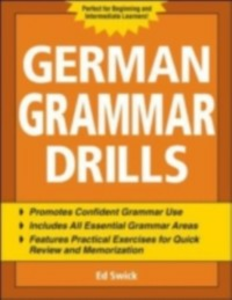 Ebook in inglese German Grammar Drills Swick, Ed