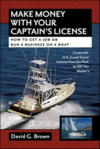 Ebook in inglese Make Money With Your Captain's License Brown, David