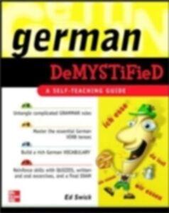 Ebook in inglese German Demystified Swick, Ed