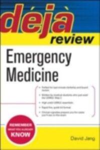 Ebook in inglese Deja Review Emergency Medicine Jang, David