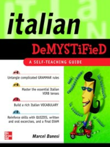 Ebook in inglese Italian Demystified Danesi, Marcel