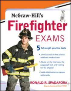 Ebook in inglese McGraw-Hill's Firefighter Exams Spadafora, Ronald