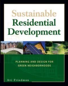 Ebook in inglese Sustainable Residential Development Friedman, Avi